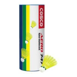 Cosco 747 Badminton Shuttlecocks Green Cap