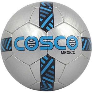 Cosco Mexico Football, Size 5 (Silver-Sky Blue)