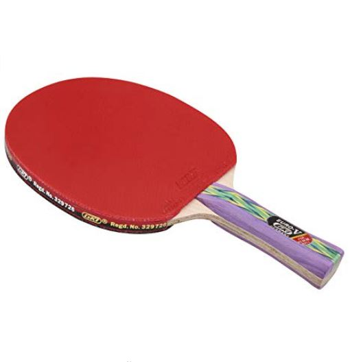 GKI Euro V Table Tennis Racquet (Multicolor)_BACK