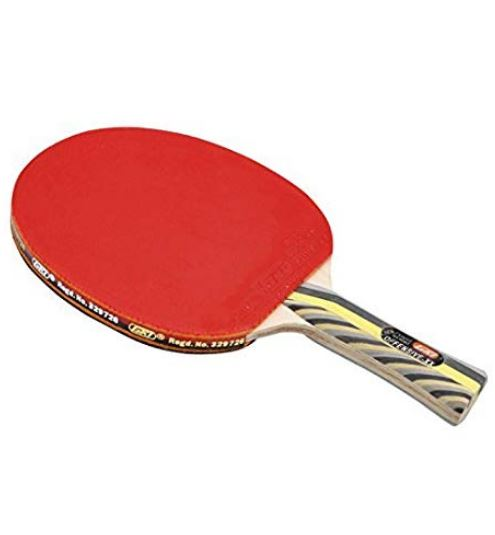 GKI Offensive XX New Computerised Printed Cover Table Tennis Racquet_SIDE