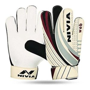 Nivia 897-L Web Goalkeeper Gloves