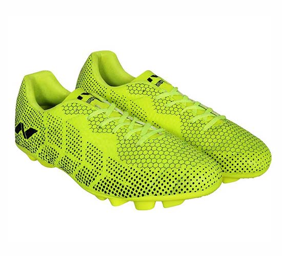 Nivia Encounter Football Shoes yellow dotted