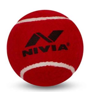 Nivia Heavy Weight Cricket Tennis Ball_front