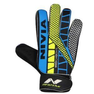 Nivia Web 898 Latex Goalkeeper Gloves (Multicolour)