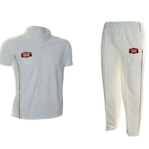 SS Super Half Sleeve Cricket Dress Set Combo (Set of T-Shirt and Trousers) - Medium