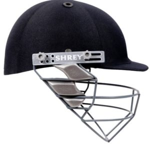 Shrey Match Mild Steel Visor Cricket Helmet, Men's Medium (Navy Blue)