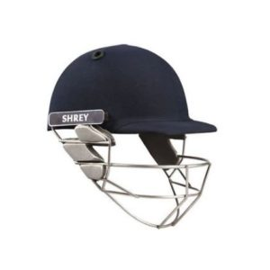 Shrey Sh101006 Pro Guard Cricket Helmet with Stainless Steel Visor, (Navy Blue)