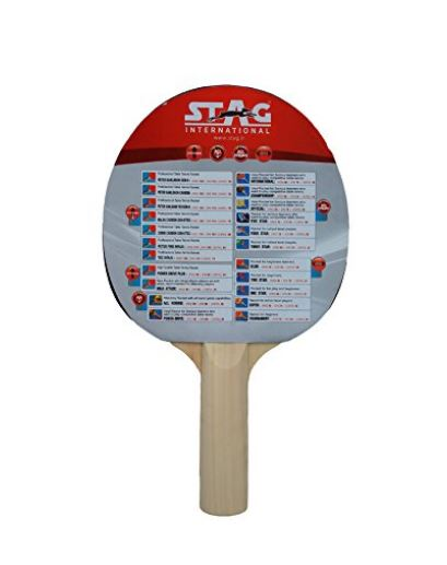 Stag 1 Star Table Tennis Racquet_BACKStag 1 Star Table Tennis Racquet_BACK
