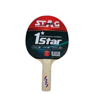 Stag 1 Star Table Tennis Racquet_FRONT