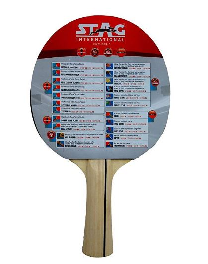 Stag 2 Star Table Tennis Racquet_BACK