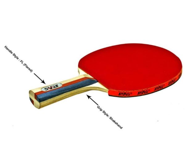 Stag 2 Star Table Tennis Racquet_RIGHT