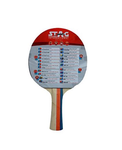 Stag 3 Star Table Tennis Racquet_BACK