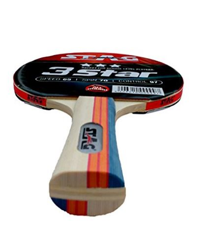 Stag 3 Star Table Tennis Racquet_DETAIL