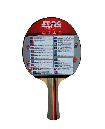 Stag 4 Star Table Tennis Racquet (Multicolor)_BACK