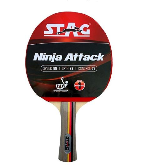Stag Ninja Attack Table Tennis Racquet_FRONT