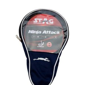 Stag Ninja Attack Table Tennis Racquet_WITH COVER