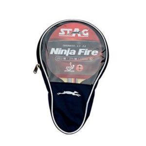 Stag Ninja Fire Table Tennis Racquet_WITH COVER