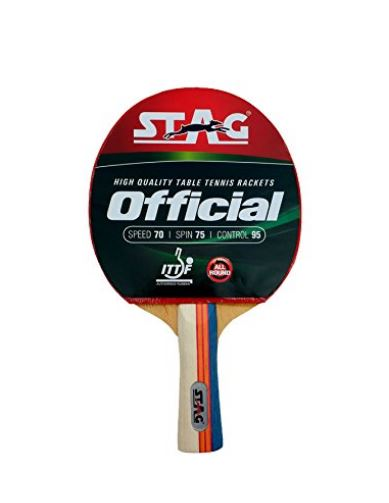 Stag Official Table Tennis Racquet_FRONT