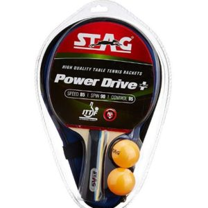 Stag Power Drive Plus Table Tennis Racquet_FRONT