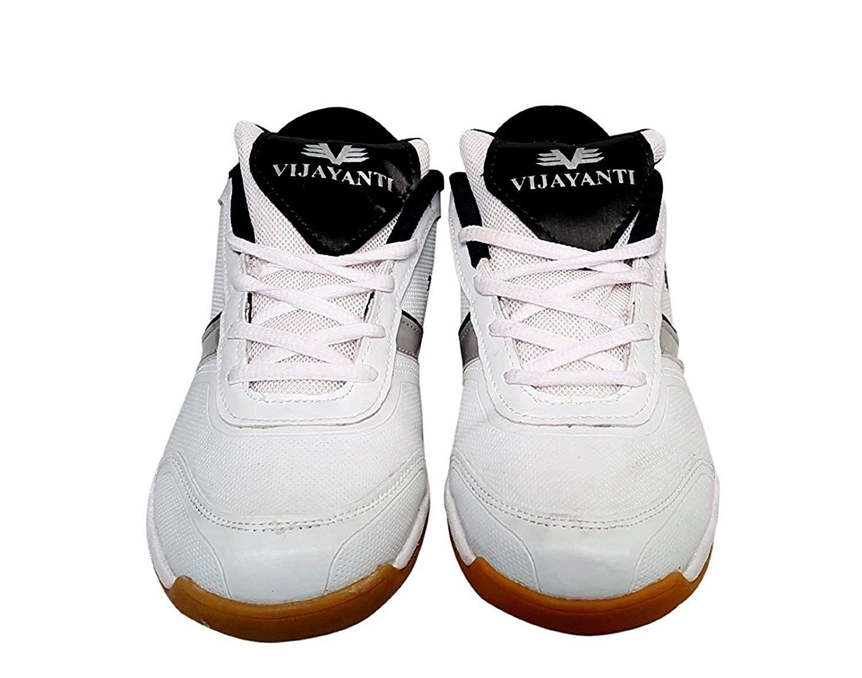 Vijayanti B69 White Badminton Shoes