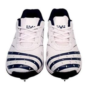 Vijayanti OC28 White Cricket Full Spikes Shoes