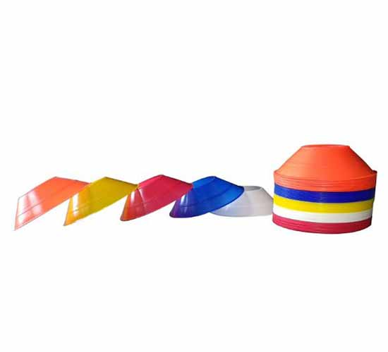 Willcraft New Multi_Color Saucer Cones pack of 25