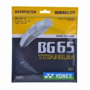 YONEX Badminton String- BG 65 (Multicolour)