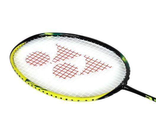 Yonex-Astrox 2 Graphite Badminton Racquet (Black&Yellow)