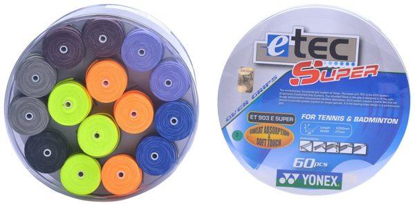 Yonex-ET 902 Blend Badminton Grips (Multicolour)