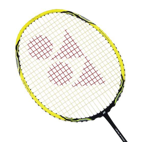 Yonex-Voltric 2DG Graphite Badminton Racquet, Yellow