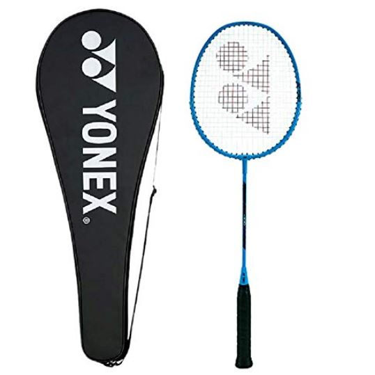 Yonex ZR 100 Aluminum Blend Badminton Racquet with Full Cover (BLUE)