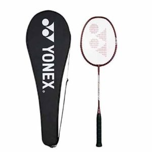 Yonex ZR 100 Aluminum Blend Badminton Racquet with Full Cover (Cherry)