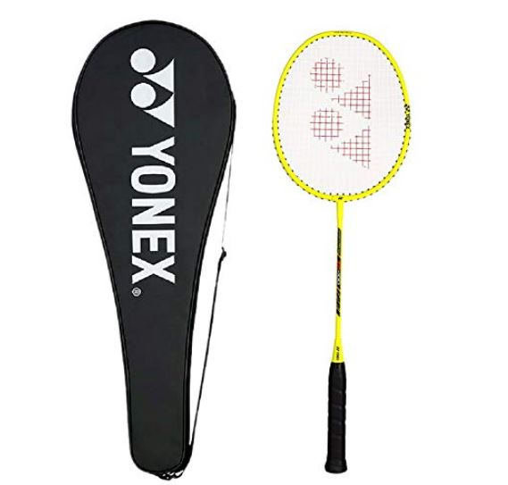 Yonex ZR 100 Aluminum Blend Badminton Racquet with Full Cover (Yellow)