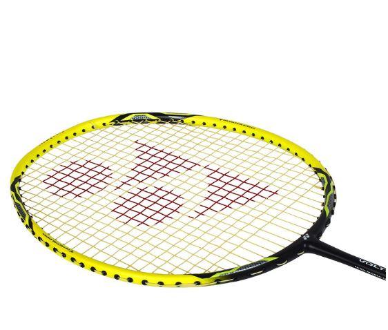 Yonex_Voltric 2DG Graphite Badminton Racquet, Yellow