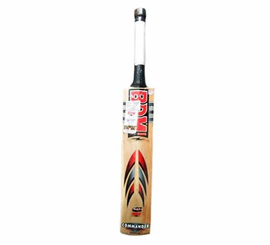 BDM-Commander Max Power Prime Grade Kashmir Willow Willow Cricket Bat_Short Handle