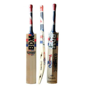 BDM Dynamic Power 20 20 English Willow Cricket Bat With Free Anti Stuff Sheet