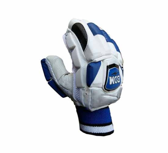 BDM-Dynamic-Super-Cricket-Batting-Gloves-White-&-Blue