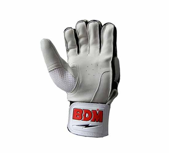 BDM Sachin Special Batting Gloves White & Black