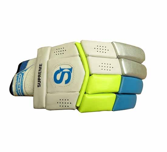 Setia International Batting Gloves Supreme - Right Handed Batsman (Assorted Colours)