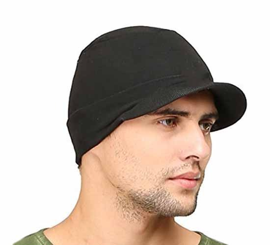 WillCraft Pure Cotton Skull Pro Cap2_black