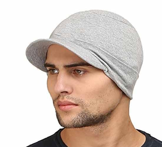 WillCraft Pure Cotton Skull Pro Cap2_grey