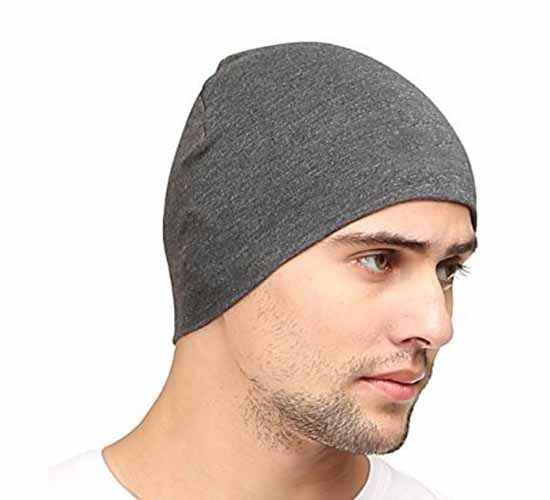 WillCraft Pure Cotton Skull Pro Cap_charcoal grey