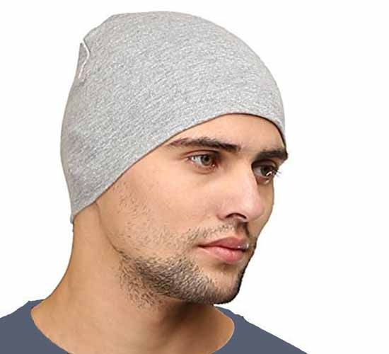 WillCraft Pure Cotton Skull Pro Cap_grey