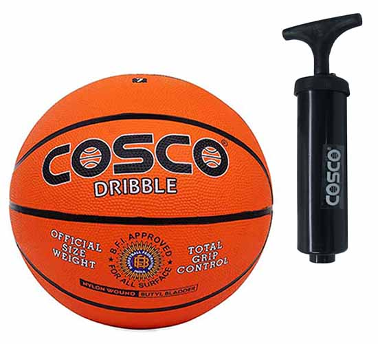 Cosco Dribble Basket Balls pump