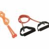 Cosco Exercise Combo of Heavy Toning Tube & Speedy - Orange Jump Rope