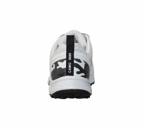 SS Camo 9000 Stud Cricket Shoes White and Black1