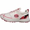 SS Camo 9000 Stud Cricket Shoes White and Red1