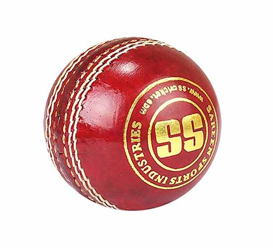 SS Club Aluminium Tanned Cricket Ball