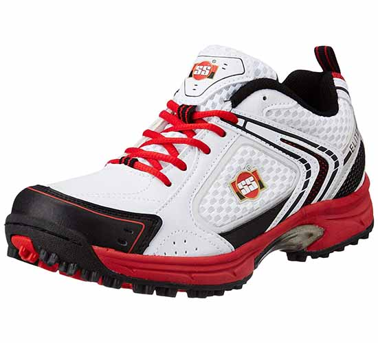 SS Elite Mesh Cricket Shoes