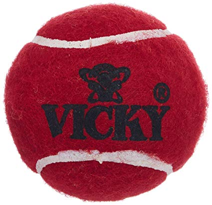 Vicky Cricket Tennis Ball - Heavy, Maroon1